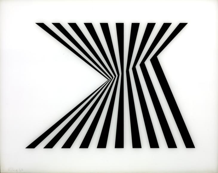 Untitled [Fragment 1/7] (1965) - Bridget Riley