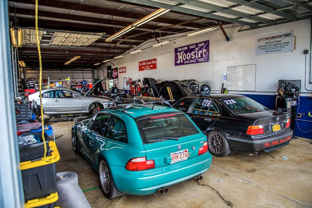 Race Shop @ WGI — The Little Speed Shop