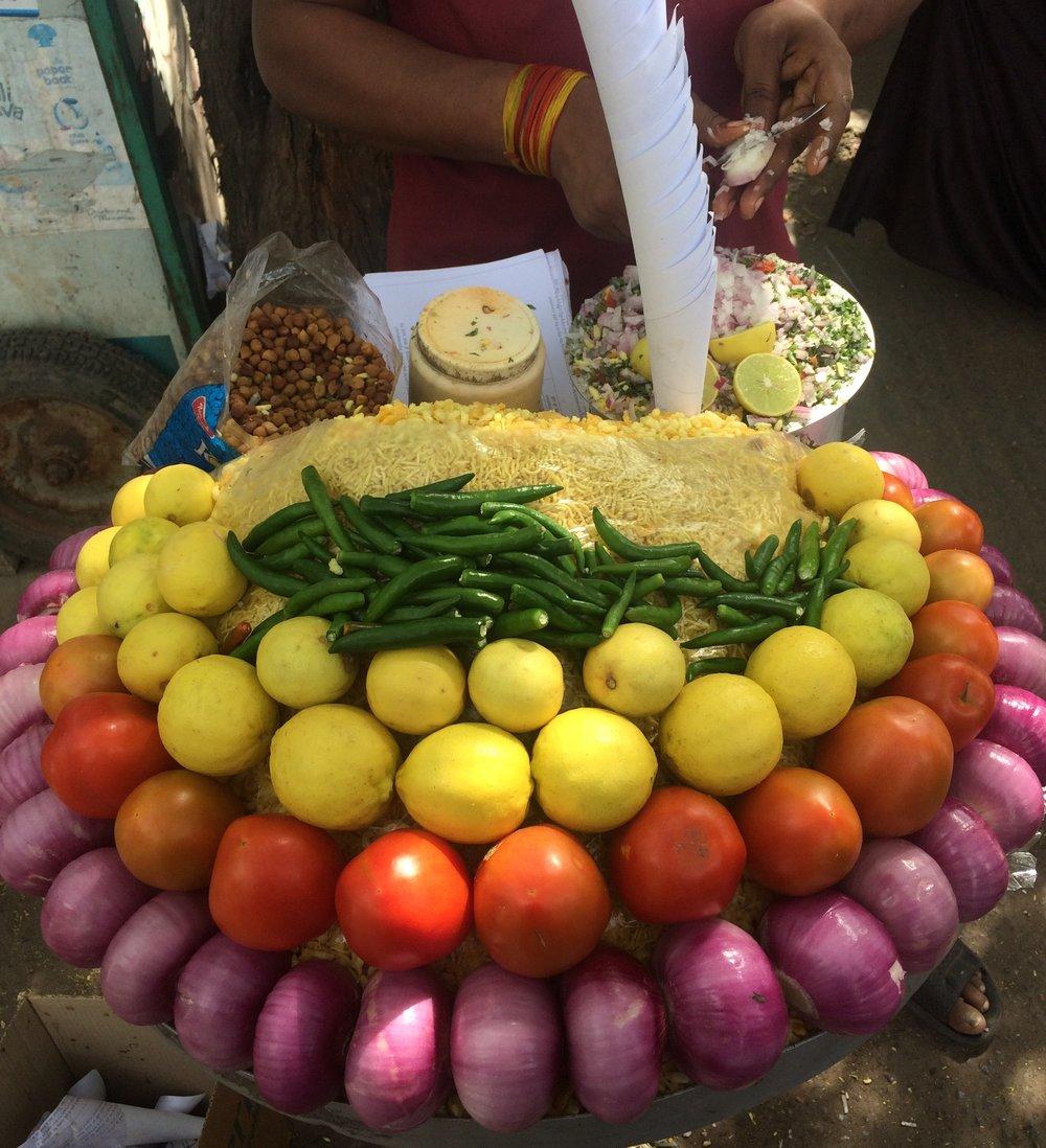 Madrid India Colorful Food.JPG