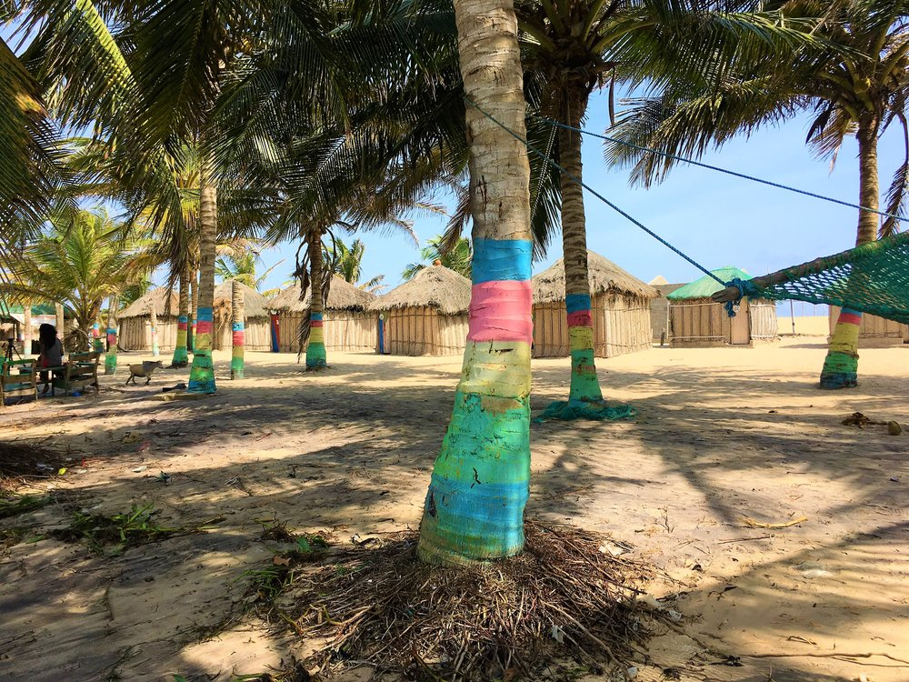The island in Lake Volta we stayed at..JPG