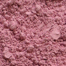 """Cobalt Hydroxide is seen in a pink and a blue powder form."""