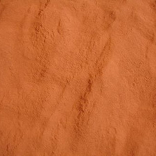"""A close-up view of Copper Powder."""