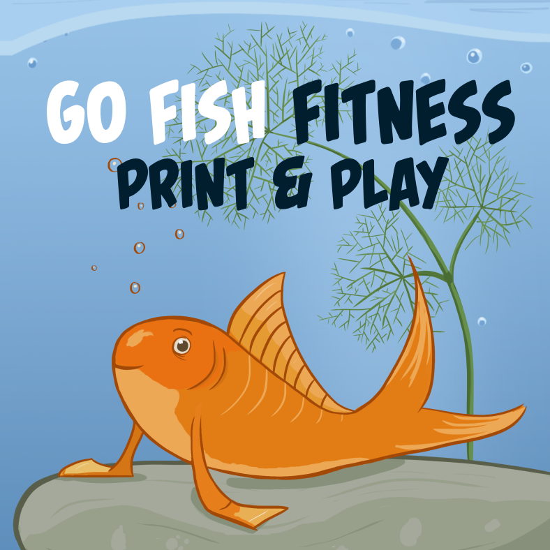 Go Fish Fitness Print Play First Edition Tricorn Games