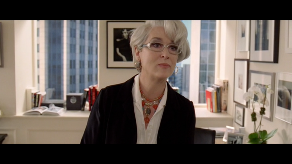 The Devil Wears Prada  is not necessarily groundbreaking, but it's genre and it's subject matter also shouldn't exclude it from being considered great which, undoubtably, it is. Performances by Meryl Streep, Anne Hathaway, and Stanley Tucci push this film to great heights.
