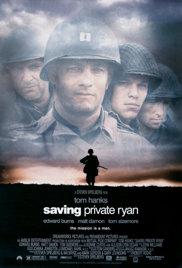 Over the next weeks I'll be exploring a number of problems with Saving Private Ryan. It may be self indulgent, but exploring a minority opinion can have the benefit of illuminating good practices when it's done right.