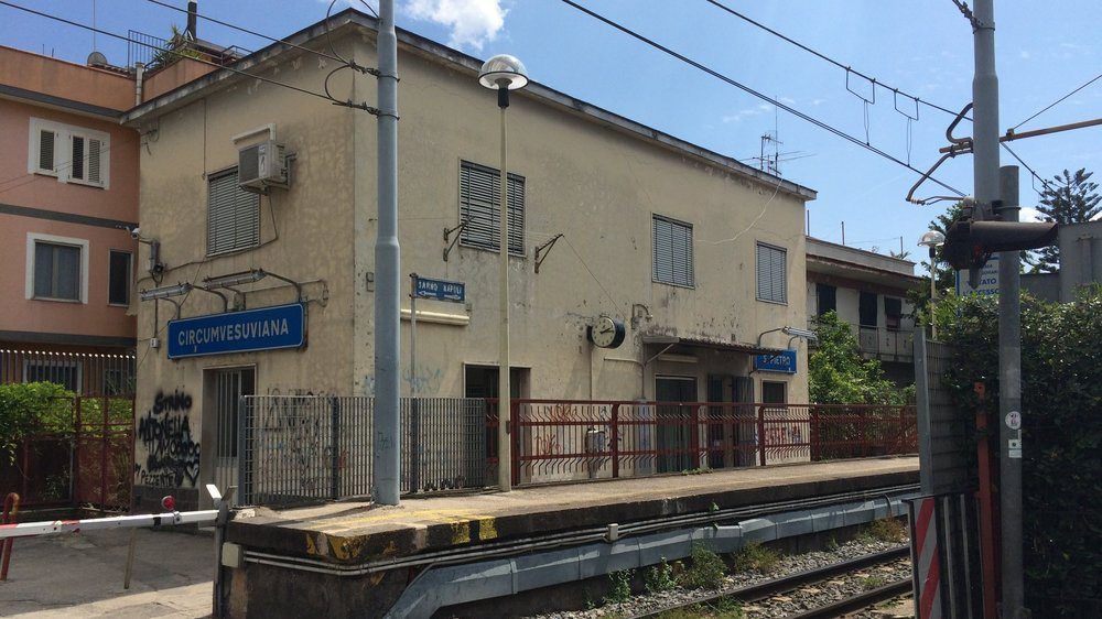 The station at Scafati. Shot on an iPhone 5s.