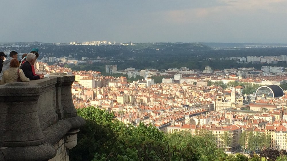 Lyon from the  Basilique . Shot on an iPhone 5s.