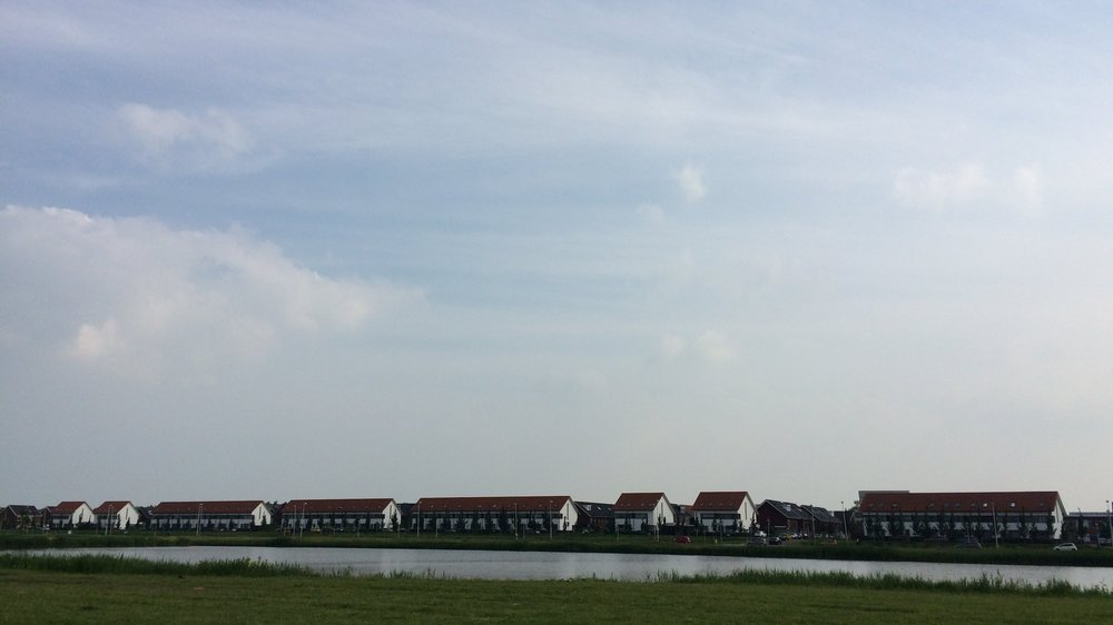 A low lying new development in Vleuten. A very Dutch suburb. Shot on an iPhone 5s.