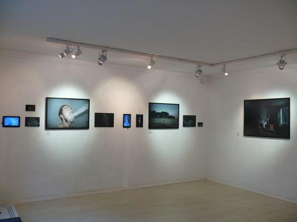 Bleu-exposition view