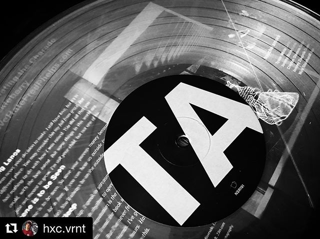"#Repost @hxc.vrnt ・・・ ""This was never your decision to make. I still have love, but it's in a different place"" ___________________________________ #toucheamore #nosleeprecords #recordstoreday #vinylclub #changinglanes #vinyl #posthardcore"