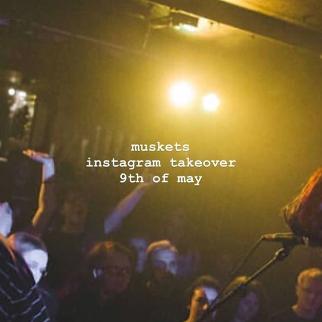 @musketsuk are taking over our instagram tomorrow as they play a sold out show at Camden Assembly on the last date of the @movementsofficial tour.