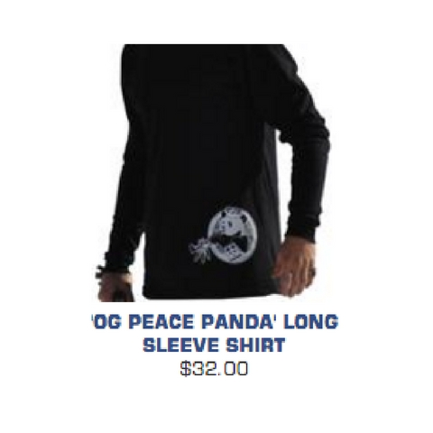 Panda poles long sleeve shirt