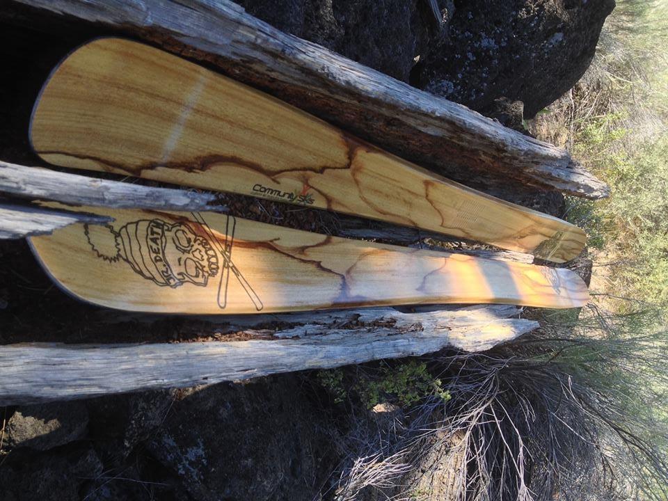 handmade skis - community skis