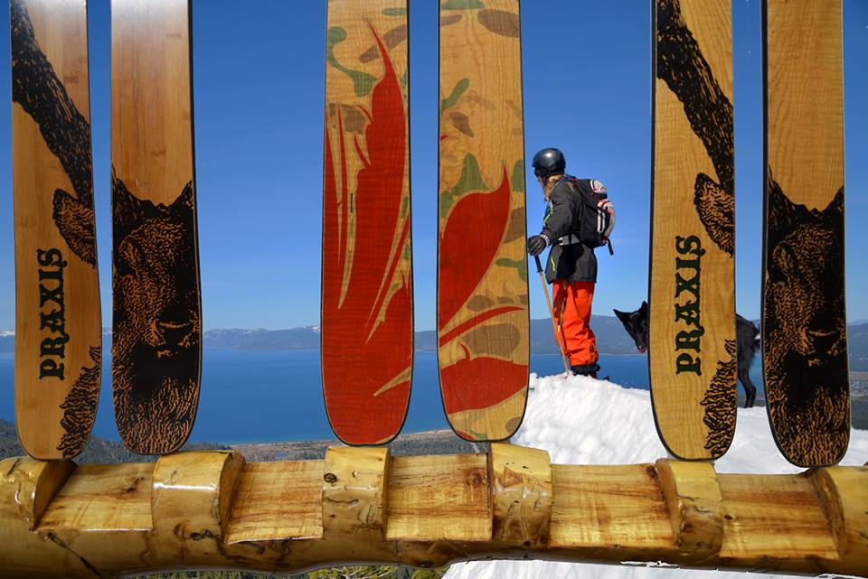 Handmade Skis - Praxis skis