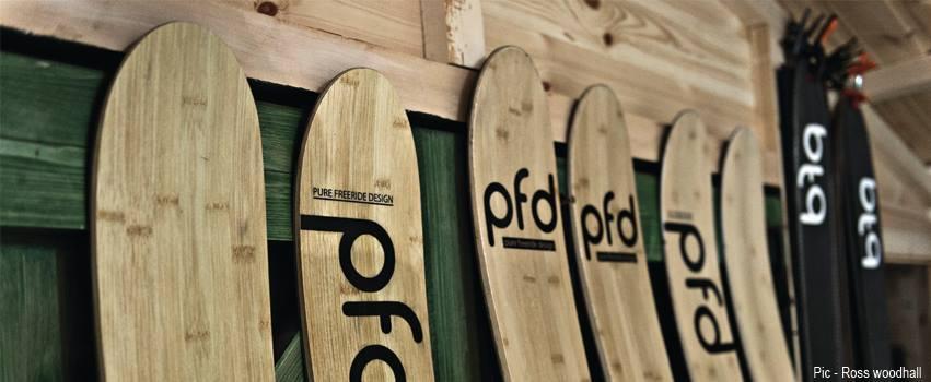 Handmade Skis - PFD Skis