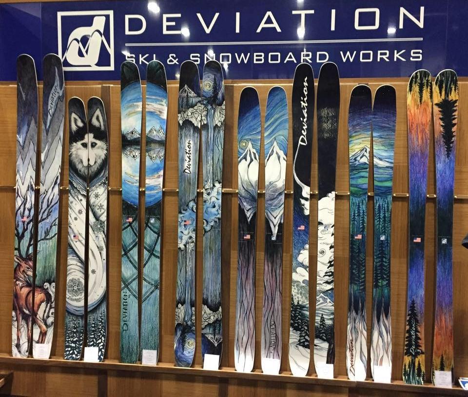 Handmade Skis - Deviation Skis