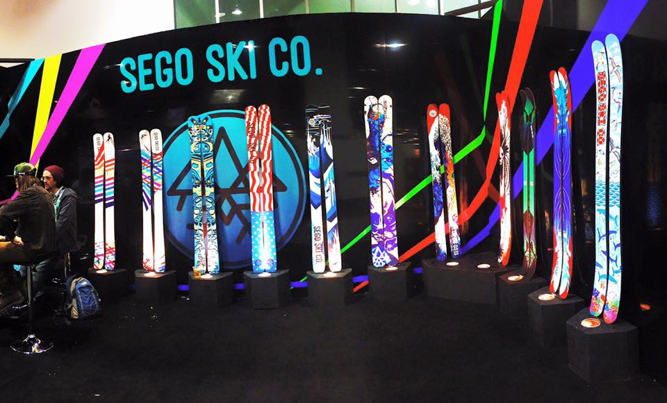 Handmade Skis - Sego Skis