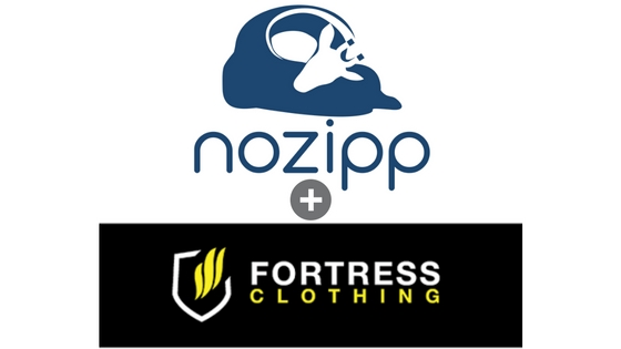 Nozipp Sleeping bags + Fortress Clothing