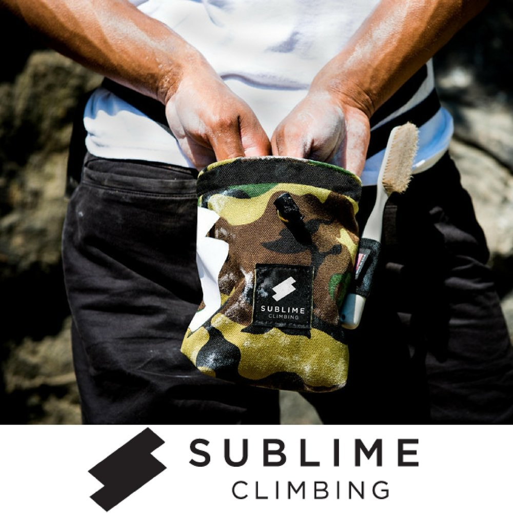 Sublime Climbing 25% OFF