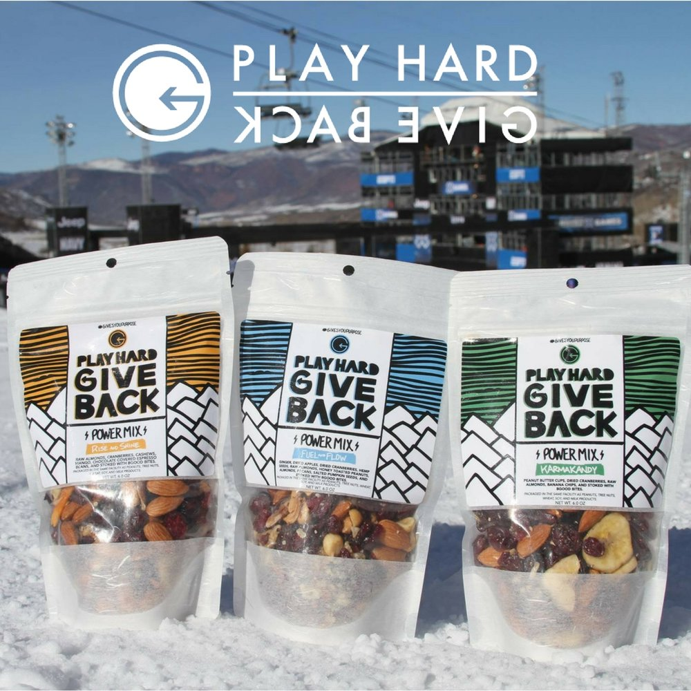 Play Hard Give Back 25% OFF