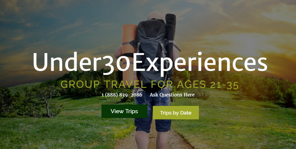under 30 Experiences