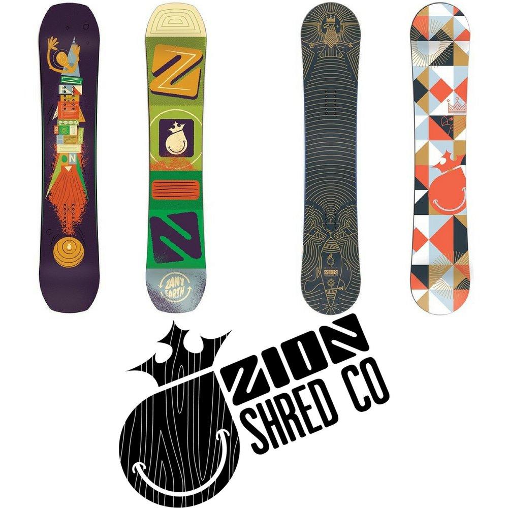 Zion Snowboards 20% OFF