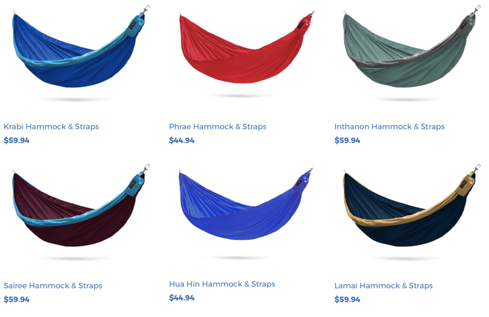 Flying Squirrel Hammocks