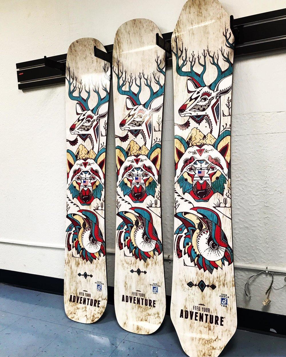 ed1f518ba44e Handmade Snowboards - 21 Best Handmade Snowboard Brands — ReddyYeti
