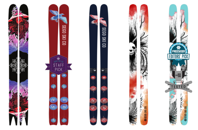 Sego Skis product line