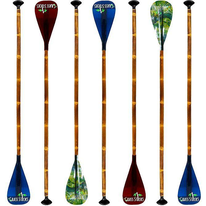 Bamboo SUP paddles