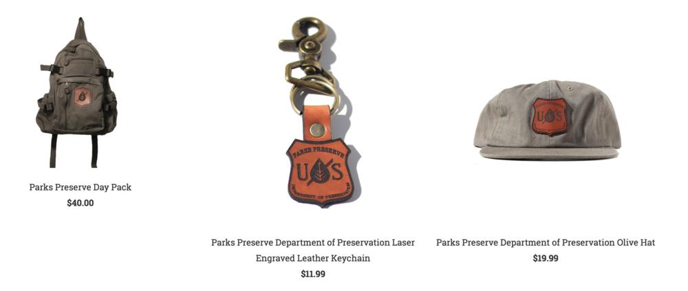 Parks Preserve Pack