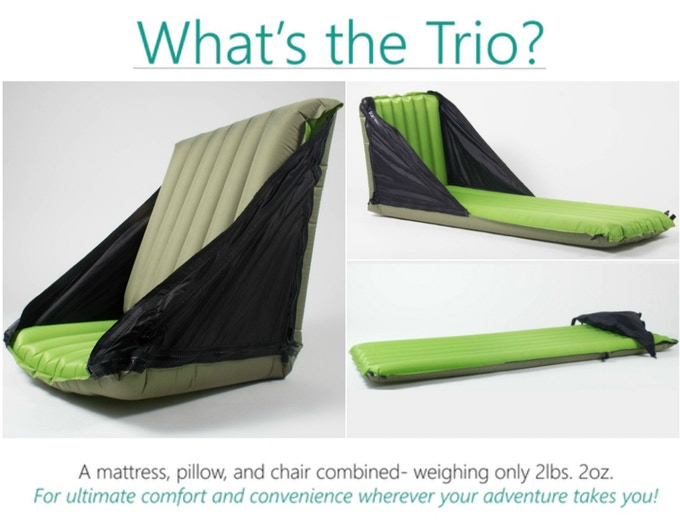 Best Camping Sleeping Pad The PacBack Trio