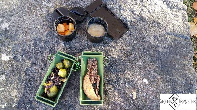 Best Food to take Hiking Green Traveler