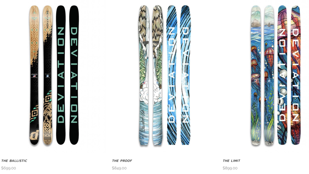 deviation Skis
