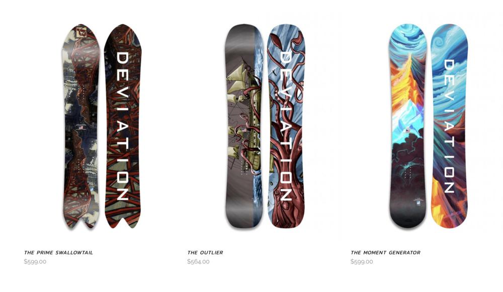 Deviation Snowboards