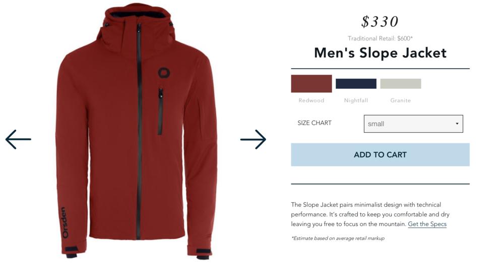 Orden Ski Jacket