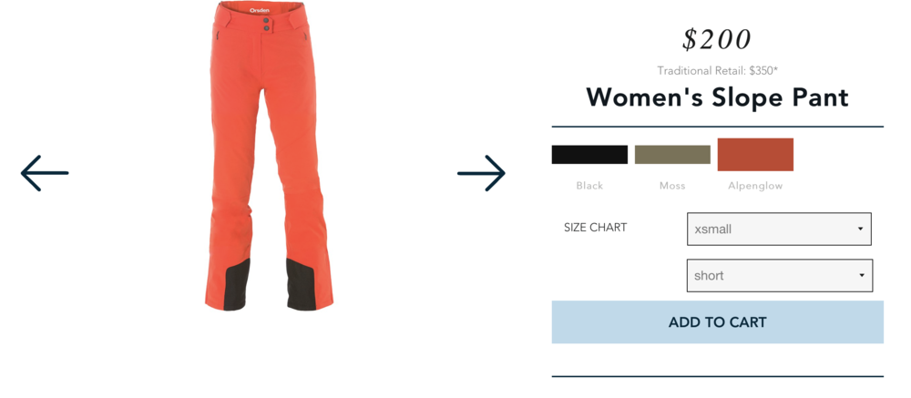 Orsden Women's Ski pants