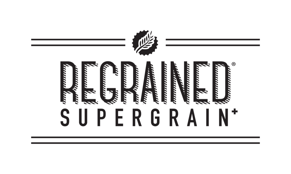 Regrained Bars Logo