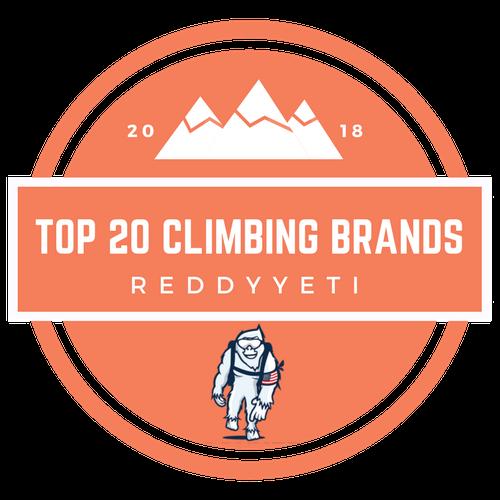 TOP 20 CLIMBING BRANDS
