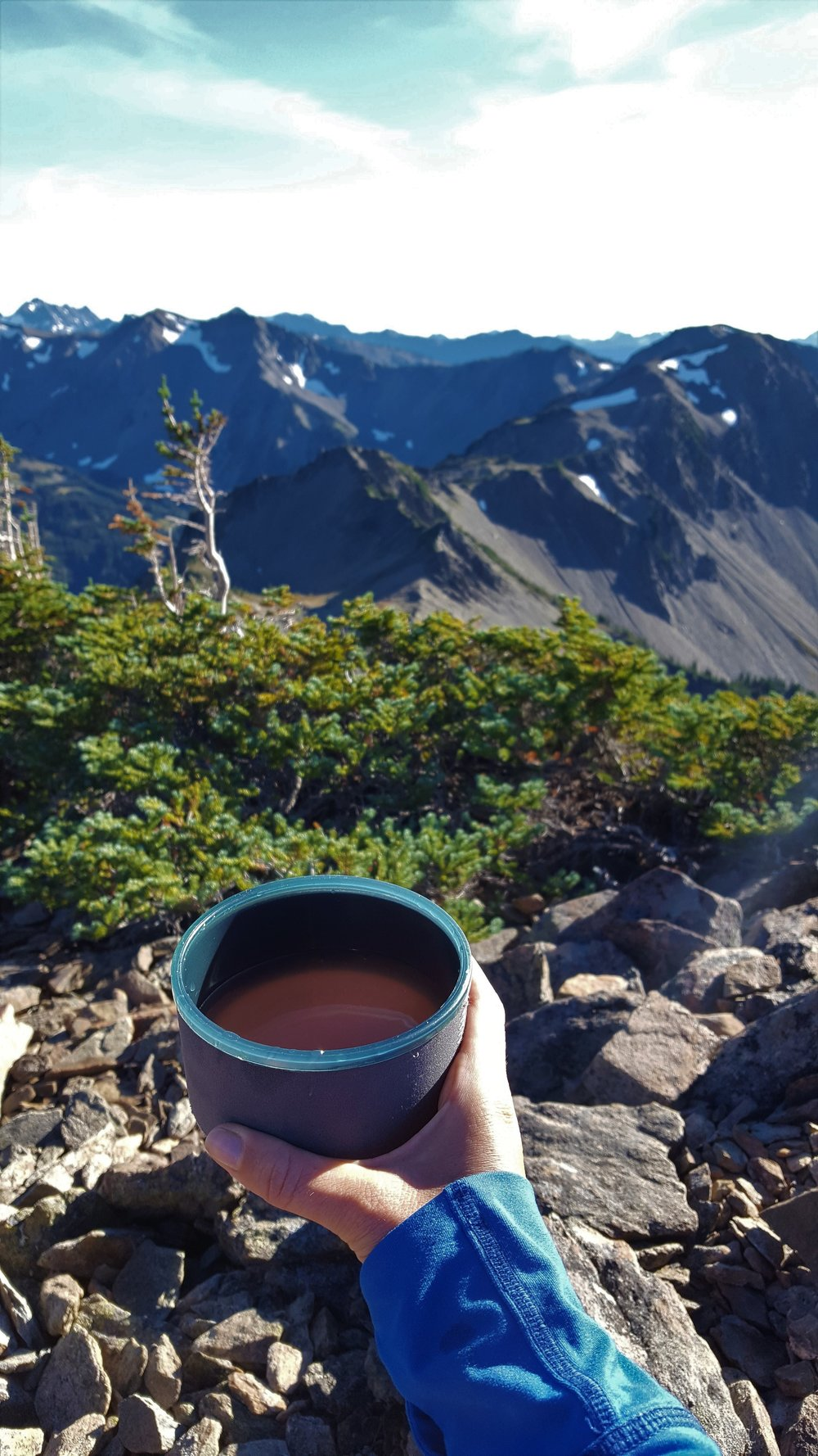 Backcountry cocktails