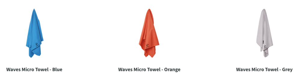 Wave Gear towels