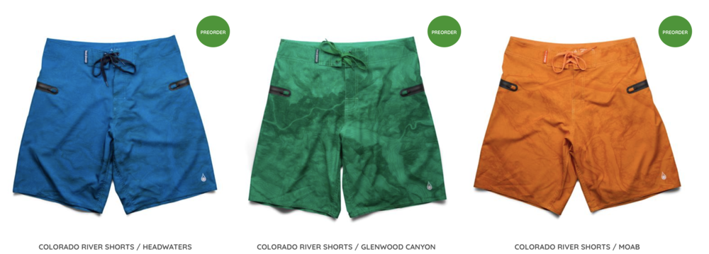 Kind Design River Shorts