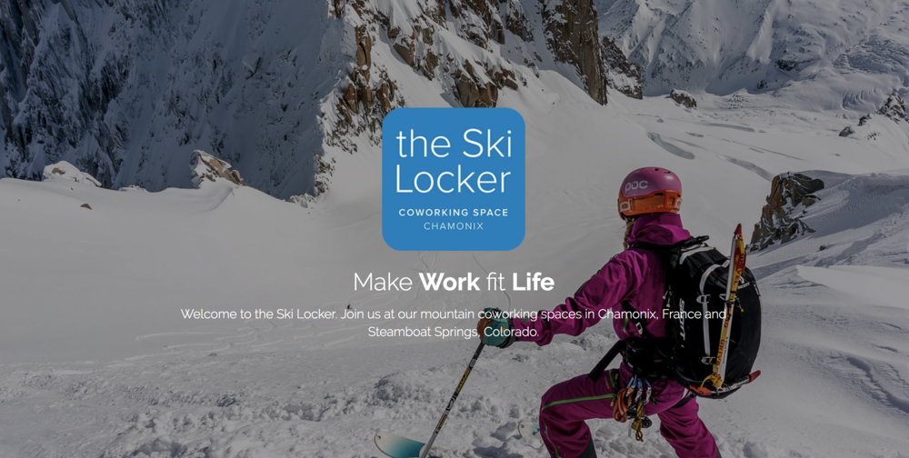 The Ski Locker coworking space