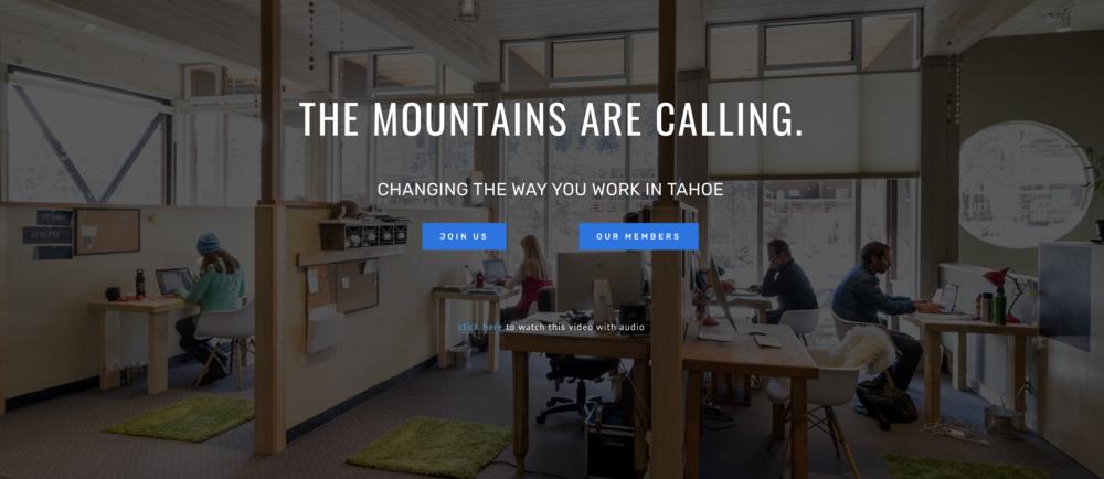 Tahoe Mill Coworking space