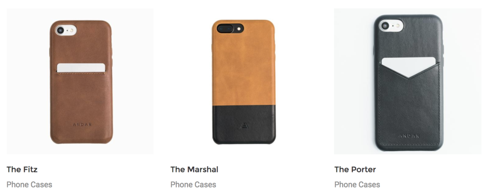 Andar phone cases