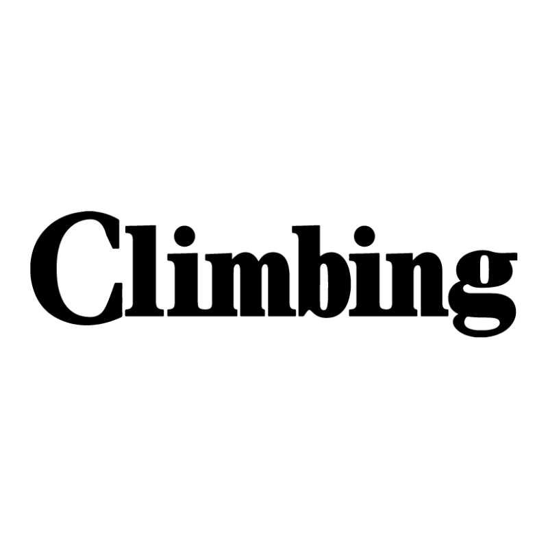 Climbing mag logo