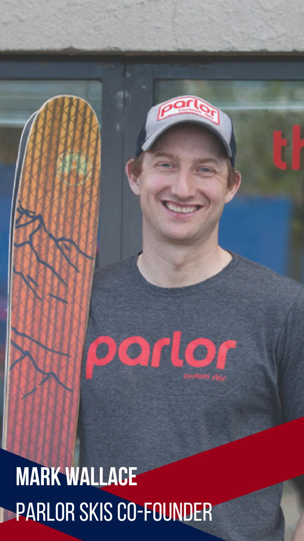 Mark Wallace Parlor Skis ReddyYeti