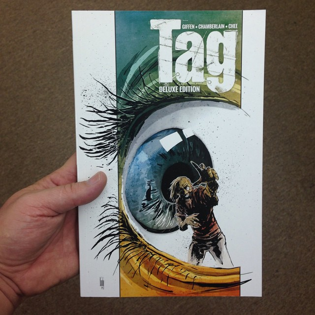 BOOM! put out a new edition of TAG so I did a fresh cover.