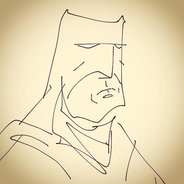 iPad doodle.