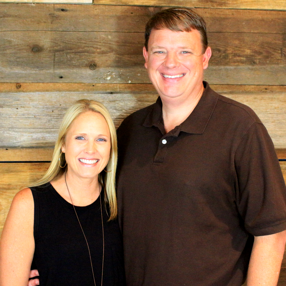 Greg & Danielle McKneely - Greg and Danielle have been members of House on the Rock since the beginning. They have two sons, Gavin and Dylan. Greg serves as our worship leader and Danielle is a leader in our children's ministry.